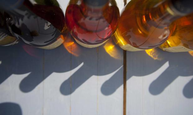 bouteilles de tokaji aszu