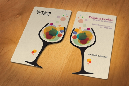 Des Taches De Vin Sur Cartes Blanches